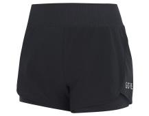 GORE R7 Women 2in1 Shorts-black