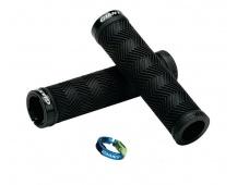 GIANT Sole-O MTB black Grip w/team blue Lock-on