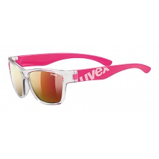 2021 UVEX BRÝLE SPORTSTYLE 508 CLEAR PINK/MIR. RED (9316)