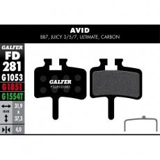 GALFER destičky AVID/SRAM FD281 standart