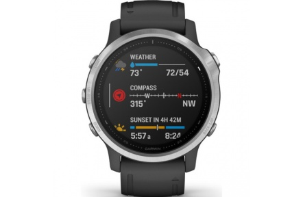 Garmin fénix 6S Silver Black band