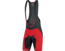 GORE Alp-X PRO 2in1 Shorts+-red
