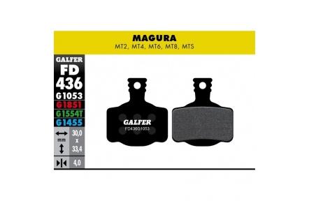 GALFER destičkyMAGURA FD436 standart