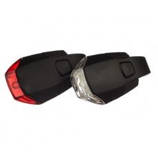 GUEE Camaro set přední+zadní světlo/blikačka-černá