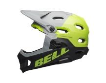 BELL Super DH MIPS Mat/Glos Gray/Green/Black