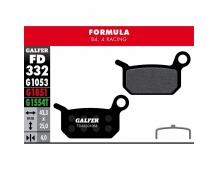 GALFER destičky FORMULA FD332 standart