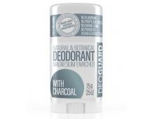 SPORTIQUE DEOGUARD přírodní tuhý deodorant - neparfemovaný s aktivním uhlím 65g