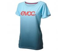 EVOC triko - T-SHIRT DRY WOMEN, neon blue