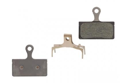 Brzdové destičky Shimano SLX BR-M666 G03S  polymerové pro brzdy Shimano BR-M985,785,675,666+pružinky