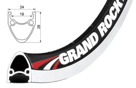 Ráfek REMERX Grand Rock 559x19 BA +GBS  32 děr
