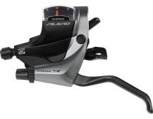 SHIMANO řad/brzd. páka ALIVIO ST-M4000 MTB/trek pro V-brzdy levá 3 rychl 2 prstá