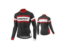 GIANT Rival LS Jersey-black/red