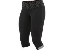 PEARL iZUMi W FLY 3/4 kalhoty, černá/screaming růžová, M