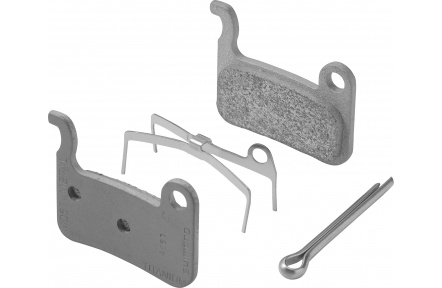 SHIMANO brzdové destičky kovové Ti M06Ti, pár