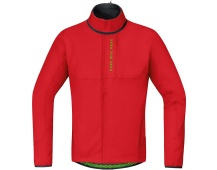 GORE Power Trail WS Soft Shell Thermo Jacket-red