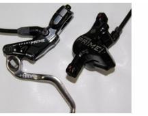 Kotoučová brzda Hayes Prime přední nebo zadní 1700mm barva černo-stříbrná