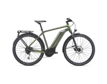 GIANT Explore E+ 3 GTS-2020-metallic olive/yellow