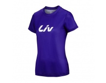 LIV Brand Tech Tee-purple