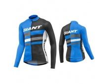 GIANT Pursue LS Jersey-blue