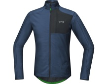 GORE C5 Thermo Trail Jersey-deep water blue/black