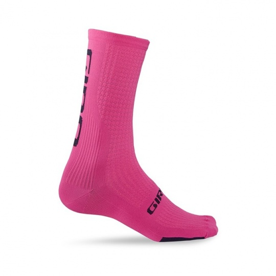 GIRO ponožky HRC Team-bright pink/black