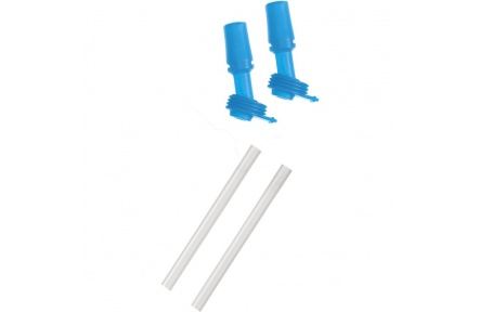 CAMELBAK Eddy Kids 2 Bite Valves/2 Straws, Ice Blue