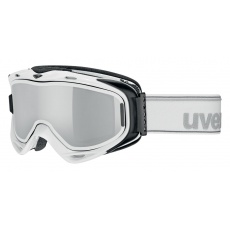 lyžařské brýle UVEX G.GL 300 TAKE OFF, white/litemirror silver (1026)