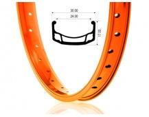 Ráfek BeFly BMX Ace, oranžový