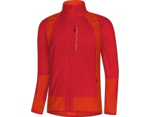 GORE Power Trail WS Insulated (Partial) Jacket-red/orange.com