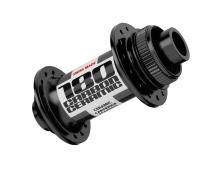 DT SWISS náboj 180 Ceramic center lock přední, 15 mm, 24/28 děr, černý