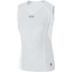 GORE Base Layer WS Lady Singlet-light grey/white