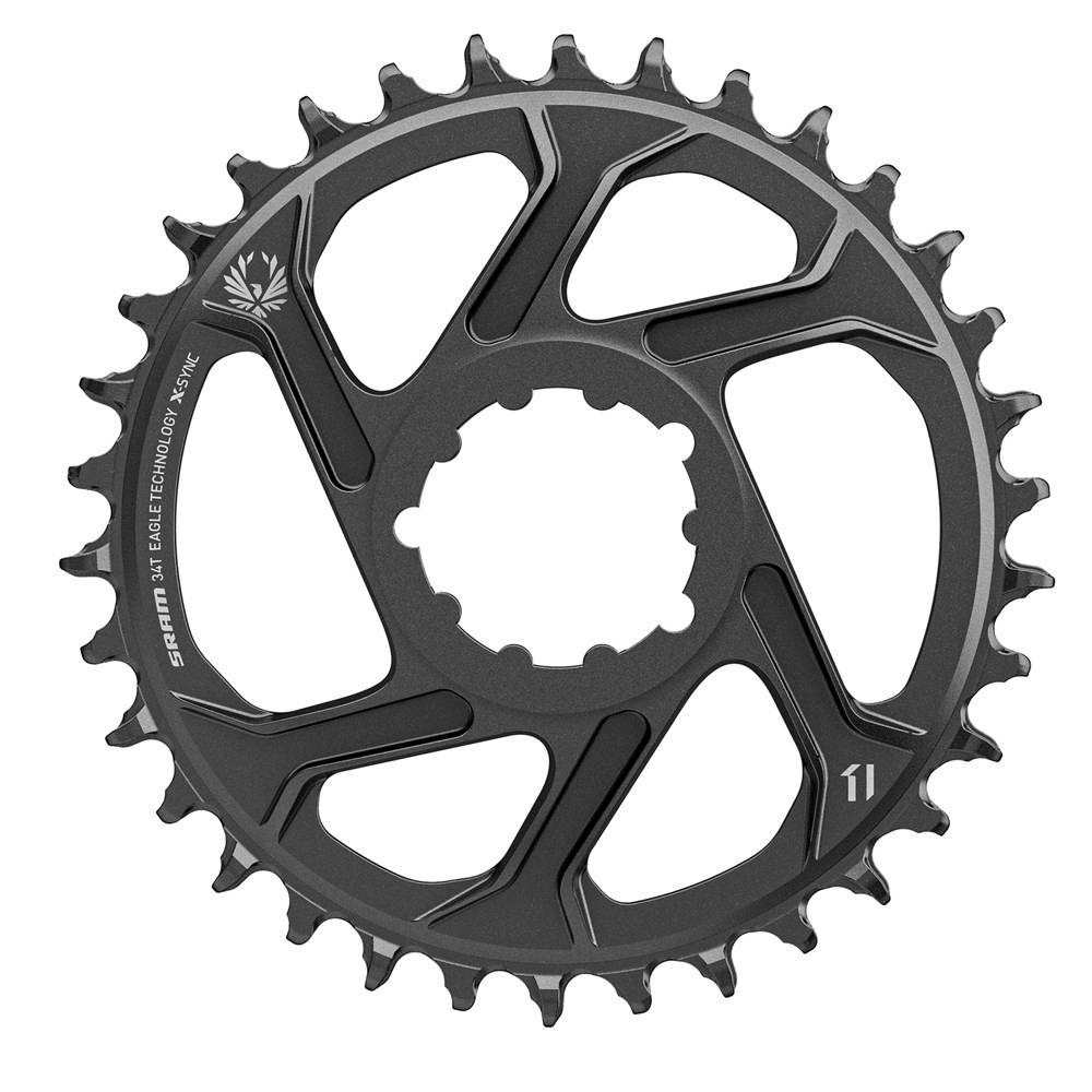 11.6218.040.005 - SRAM CR X-SYNC SL EAGLE 34T DM 6 OFFSET BLK