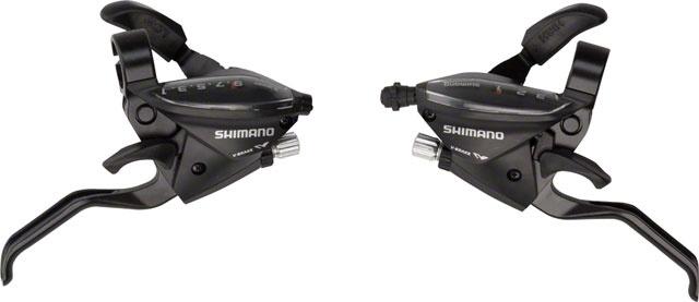 Řadící-brzdové páky MTB Shimano  ST-EF510 3x9  levá+pravá