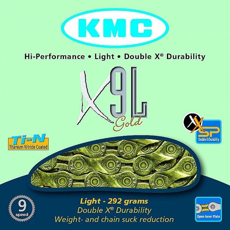 ŘETĚZ KMC X-9-L GOLD BOX