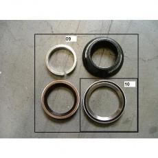 Headset No.56E 28.6-34-42-47 H=16.5 w/b.bk AL CO