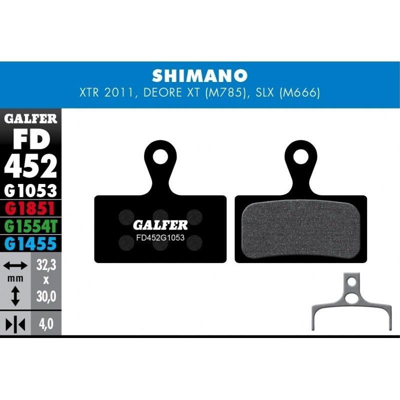 GALFER destičky SHIMANO FD452 road