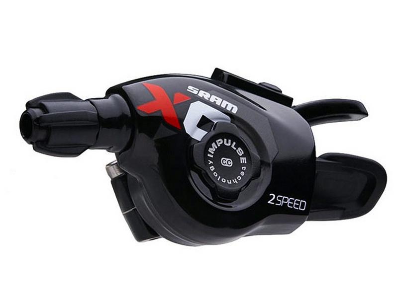 řazení SRAM  X.0 Trigger Shifter páčky 2rychlostní pouze levá-černá