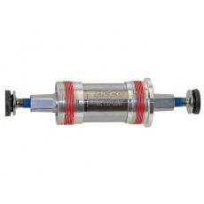 Středová osa NECO zapouzdřená misky ALU BSA délka 122,5mm