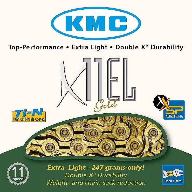ŘETĚZ KMC X-11-EL GOLD BOX