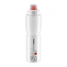 ELITE láhev JET PLUS 21'  čirá/červené logo, 950 ml