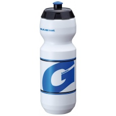 GOFLO 750CC PP water bottles white w/blu G mark
