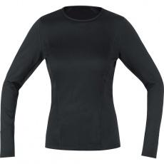 GORE M Women Base Layer Long Sleeve Shirt-black