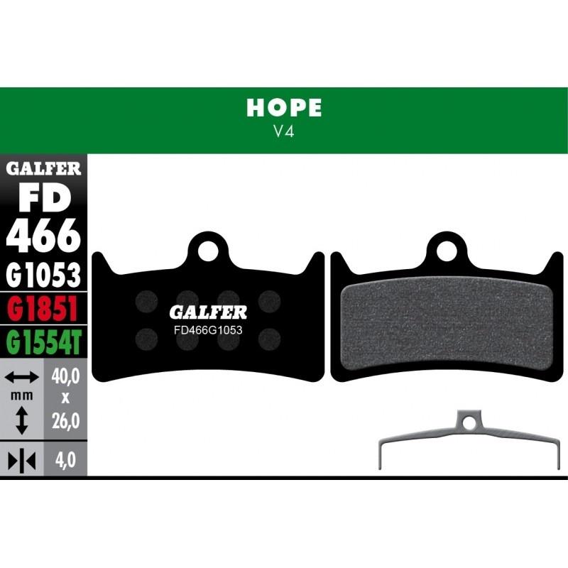 GALFER destičky HOPE FD466 standart