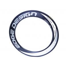 Ráfek silniční  celokarbonový-Edge Design 80mm , pláštový 20děr-poslední 1 ks !!!
