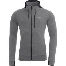 GORE Essential Hoody-grey melange