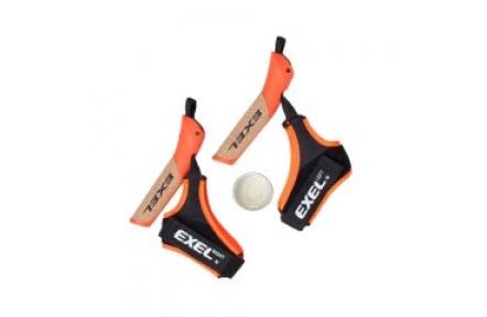EXEL C Cork Grip Evolution Oranžová + Fusion Strap + Glue, náhradní madla a poutka