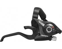 SHIMANO řad/brzd. páka ALTUS ST-EF51 MTB/trek pro V-brzdy pravá 9 rychl 2 prstá černá