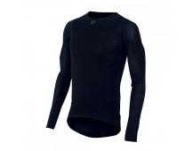PEARL iZUMi TRANSFER WOOL LS CYC funkční oblečení, černá