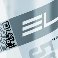 ELITE láhev CORSA čirá/stříbrná 550ml
