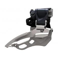 Přesmykač Sram X.7 3x10 objímka horní 34,9mm tah obojetný - horní i spodní barva šedá